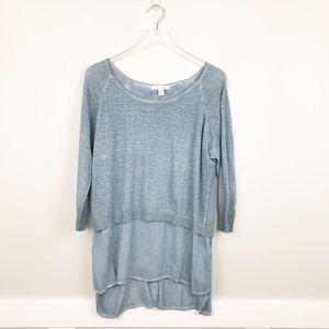 Tribal Jeans Linen Shirt Combo Blue XL